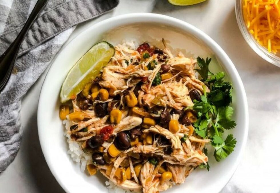 SARAH'S CROCKPOT SALSA CHICKEN